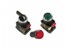 Светосигнальные индикаторы, кнопки управления и переключатели ИЭК