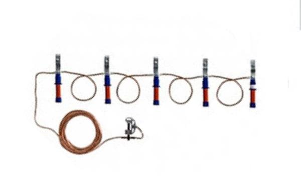 Заземление переносное для высоковольтных линий ЗПЛ-1Д