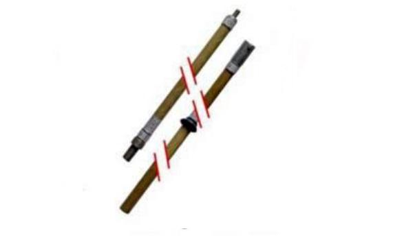 Штанга изолирующая универсальная ШИУК-220-2-3,7