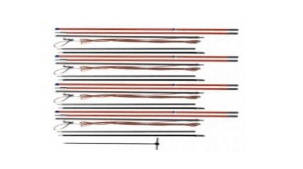 Комплект для заземления КШЗ-10Д