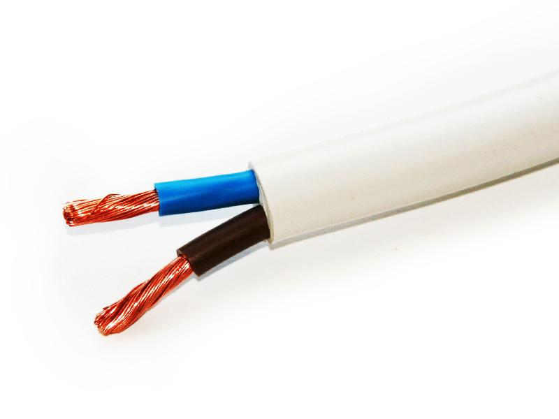 Провод соединительный ПВС РЭК-PRYSMIAN 2х4 мм. кв.
