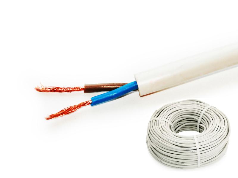 Шнур соединительный плоский ШВВП РЭК-PRYSMIAN 2х0,5 мм. кв. бухта 50 м