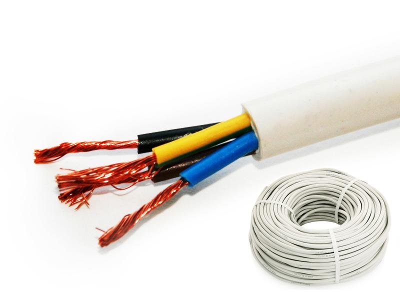 Провод соединительный ПВС 4х0.75 мм кв.