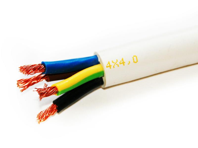 Провод соединительный ПВС РЭК-PRYSMIAN 4х4 мм. кв.