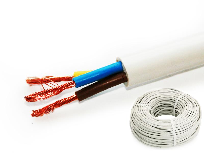 Провод соединительный ПВС РЭК-PRYSMIAN 3х1.0 мм. кв. бухта 10 м