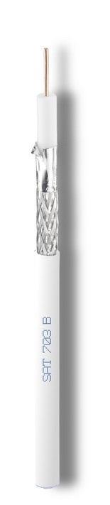 Кабель телевизионный SAT 703B (N) Cavel (жила медь, оплетка - луженая медь)