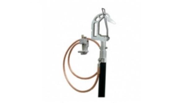 Заземление для грозозащитного троса ПЗТ 330-500