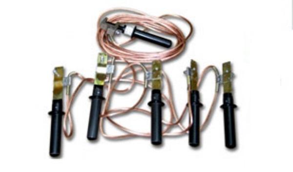 Заземление переносное ЗПЛ-1 кВ