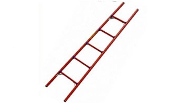 Лестница стеклопластиковая, приставная ЛСПД 4,8 ЕВРО