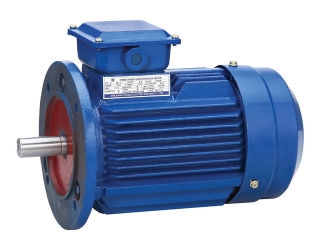 Электродвигатель 0,18 кВт 1500 об/мин, АИР56В4 лапы + фланец