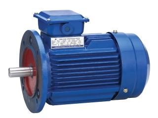 Электродвигатель 0,55 кВт 3000 об/мин, АИР63В2 лапы + фланец