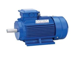 Электродвигатель 0,55 кВт 3000 об/мин, АИР63В2 лапы