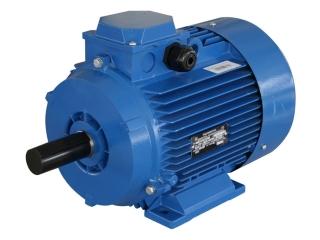 Электродвигатель 90 кВт 1500 об/мин, АИР250М4 1081, лапы