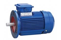 Электродвигатель 0,12 кВт 1500 об/мин, АИР56А4 лапы + фланец