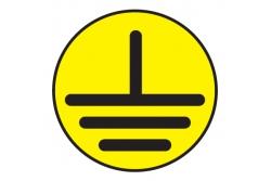 T22 Указатель заземления (Пленка 050 х 050)