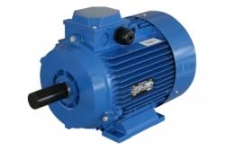 Электродвигатель 0,18 кВт 1500 об/мин, АИР56В4 лапы + фланец(малый)